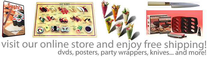 sushi supplies - free shipping
