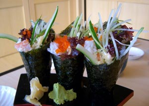 how to make healthy brown rice sushi